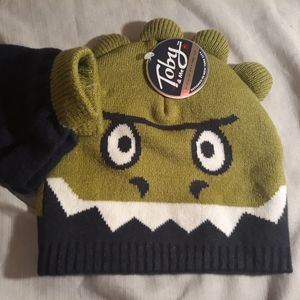 Toby and Me Monster Beanie and Glove Set